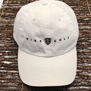 Vintage Nike Golf Strapback Hat/Cap White